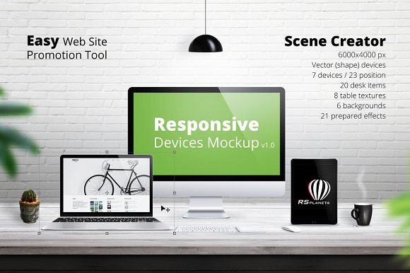 Download Responsive Devices Mockup