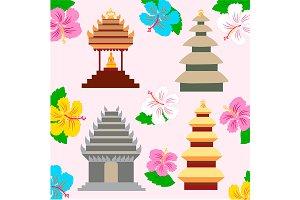 Indonesian pagoda