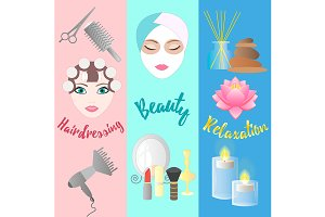 Accessories for Hairdressing salon