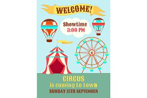 Poster Circus is coming to town