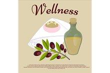 Wellness. Beauty salon concept.
