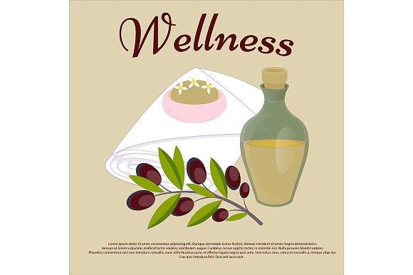 Wellness. Beauty salon concept. - Illustrations