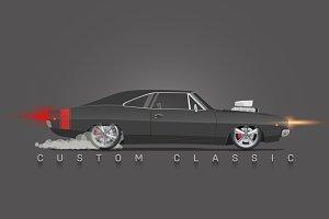 Custom Classic Car.