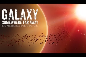 19 Space Backgrounds