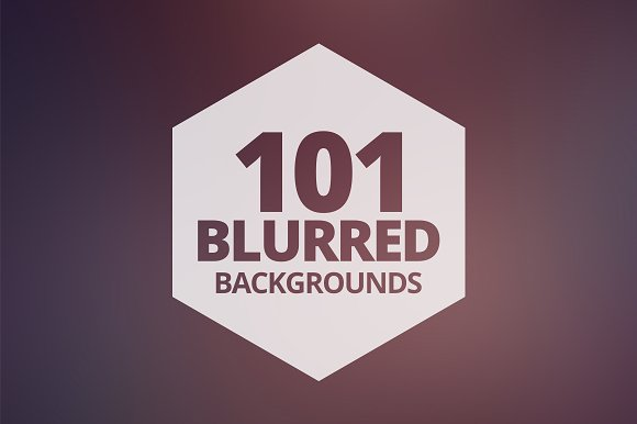 101 Blurred Backgrounds