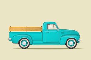 Classic American Pickup Truck