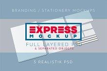Express Branding/Stationery Mockups