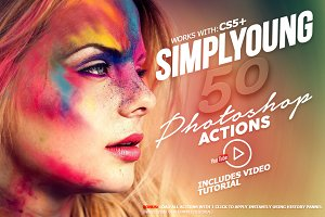 Simplyoung - Photoshop Actions Pack