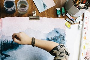 Watercolor Artist I