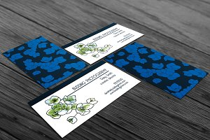 Blossom Business Card Template