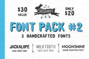 Jackrabbit Font Bundle 2