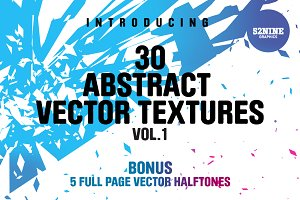 Abstract Vector Textures + Bonus!