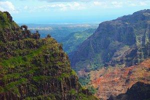 Scenic Waimea Canyon