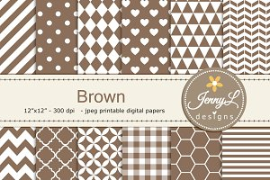 Brown Digital Paper