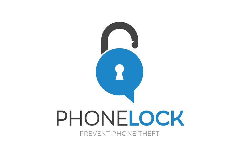 Phone Lock Logo Design in Logo Templates - product preview 8