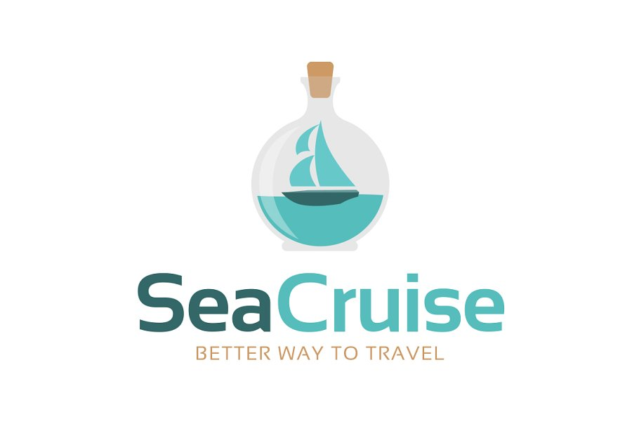Sea Cruise - Travel Agency Logo in Logo Templates - product preview 8