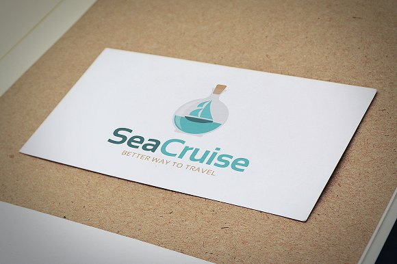 Sea Cruise - Travel Agency Logo in Logo Templates - product preview 1
