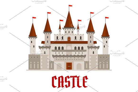 Romantic Medieval Castle Building