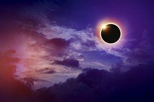 imaginary solar eclipse