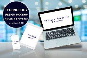 TECHNOLOGY DESIGN MOCKUP 9BG