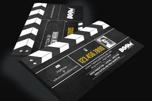 Movie Producer Director Biz Card