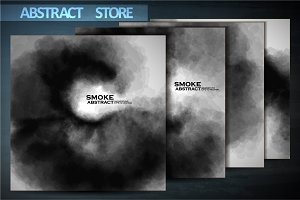 Smoke vector backgrounds