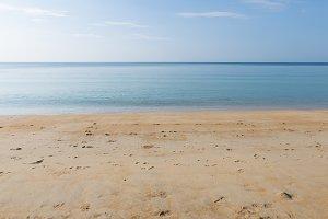 Sky, sea and beach in Phuket
