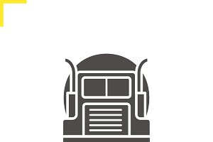 Gasoline tank truck icon. Vector