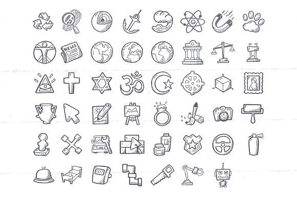 Academic Disciplines Education Icons