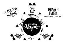 Vegan lettering