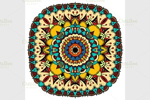 Ornate eastern mandala