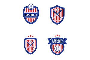Baseball Vector Logo Set