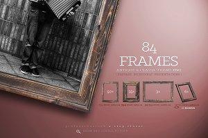 84 Wooden Frame