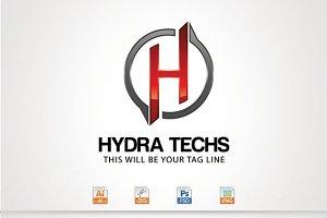Hydra Techs,H Letter Logo