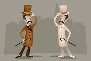 3d Vintage Gentleman