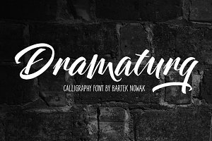 Dramaturg family - 4 fonts