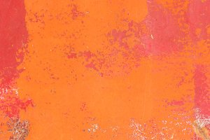 Bright Orange painted surface