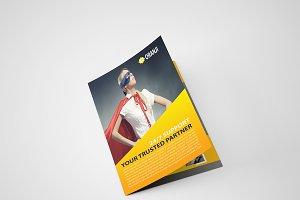 Oranji Bi Fold Brochure Template