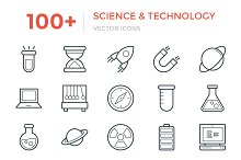100+ Science and Technology Icons