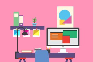 Illustrator workspace