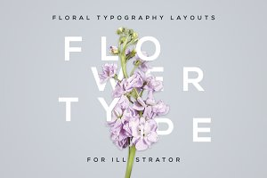 FlowerType for Illustrator