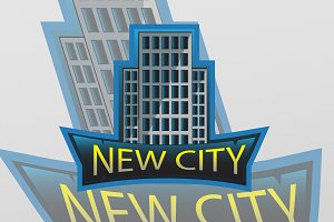 New city   professional logo
