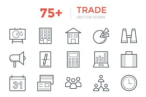 75+ Trade Vector Icons