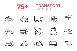 75+ Transport Vector Icons