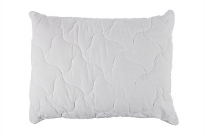 white pillow isolated