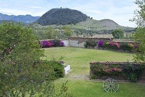 Mexican hacienda,