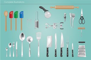 Kitchen Utensils Brushes