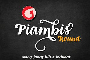 Piambis Round open type font