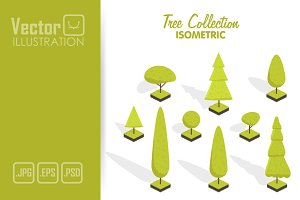 Isometric tree set