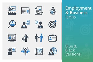 Employment & Business Icons